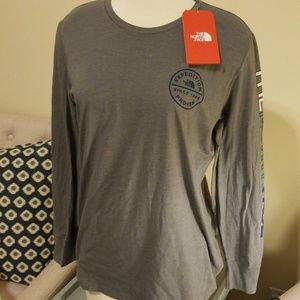 North Face long sleeved tee